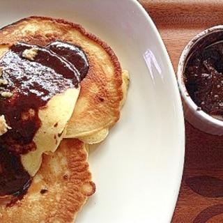 ハワイアンココナッツチョコレートパンケーキ