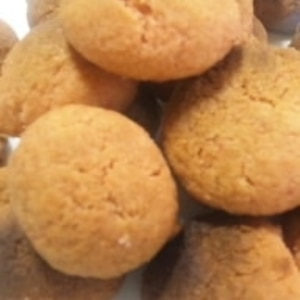 ちょっぴり塩味。さくらのほろほろクッキー