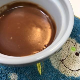 ココナッツとチョコレートのチーズクリーム