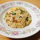 きゅうりシャキシャキ☆合い挽き肉ときゅうりの炒飯