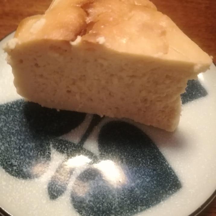 計量カップ不要のグルテンフリーチーズケーキ