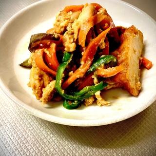 鶏肉と野菜の中華炒め
