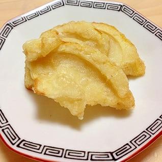 筍に下味を付けて天ぷら