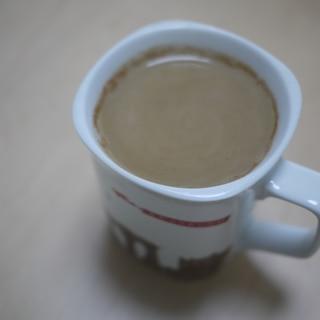 チャイ風味のコーヒー