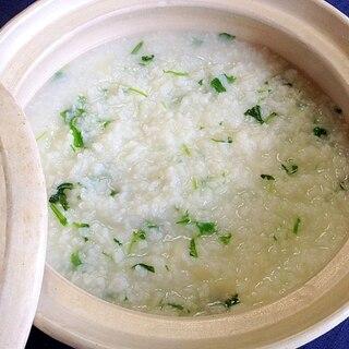 ご飯から簡単☆七草粥