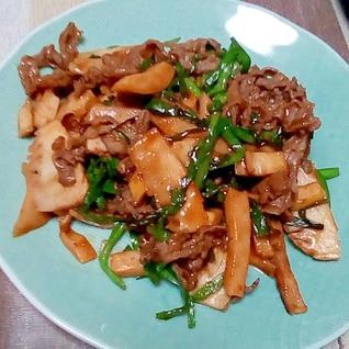 牛肉の炒め物のレシピ