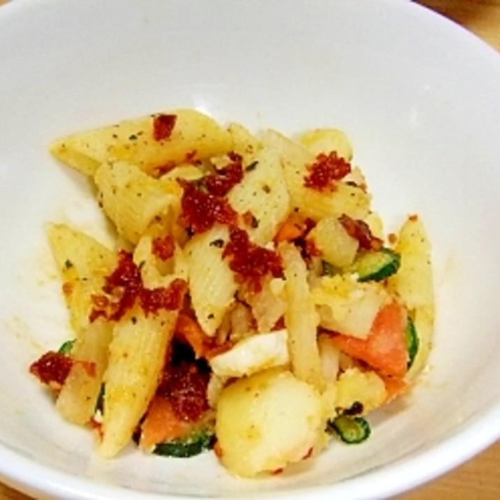 ちょっとイタリアンなドライトマト・ポテトサラダ
