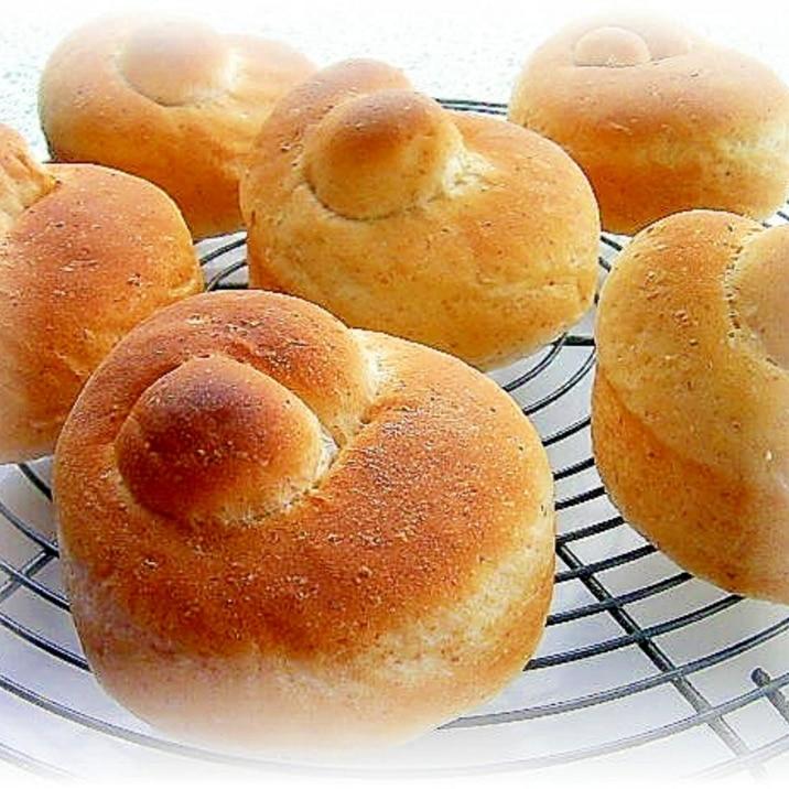 グラハムノットパン