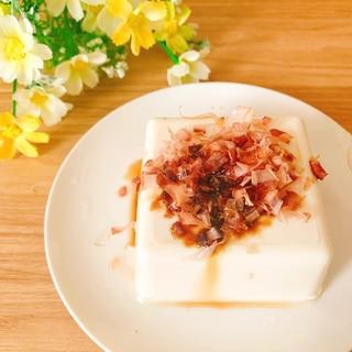柚子風味ꕤ鰹節たっぷり湯豆腐