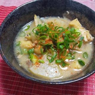 ダイエットレシピ!サバ缶と大根の味噌汁