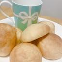 ホームベーカリーで!ココナッツオイルの丸パン