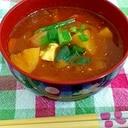 辛くておいしい!テンジャンチゲ(韓国の鍋)