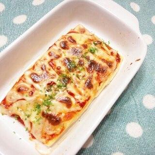 木綿豆腐deピザ風