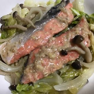 【下味冷凍】鮭のごまちゃんちゃん焼き