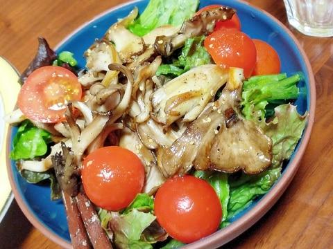 焼き舞茸のサラダ