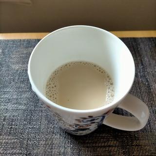 烏龍茶と豆乳のミルクティー☆