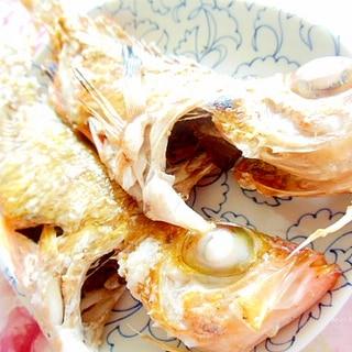 ❤赤ハチメ(メバル)の塩レモン焼き❤