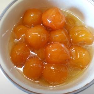 ふっくらツヤツヤっ金柑の甘露煮