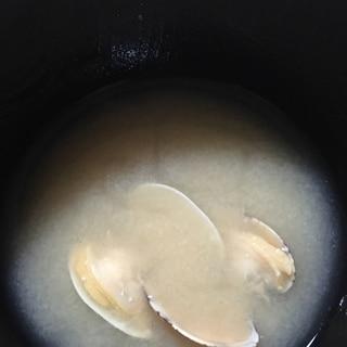 アサリの味噌汁