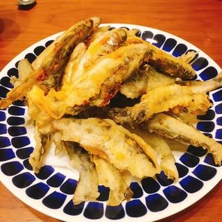 ヤマメの天ぷら