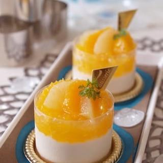 オレンジヨーグルトムース