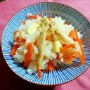 チーズとエリンギの炊き込みご飯(広島産)