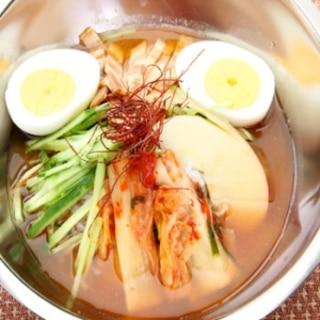 韓国風こんにゃく冷麺
