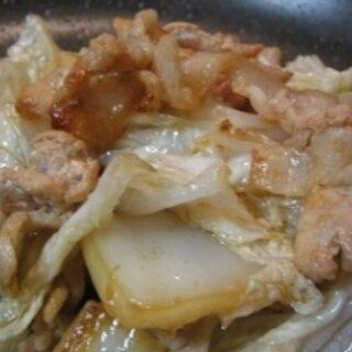 豚肉と白菜炒め