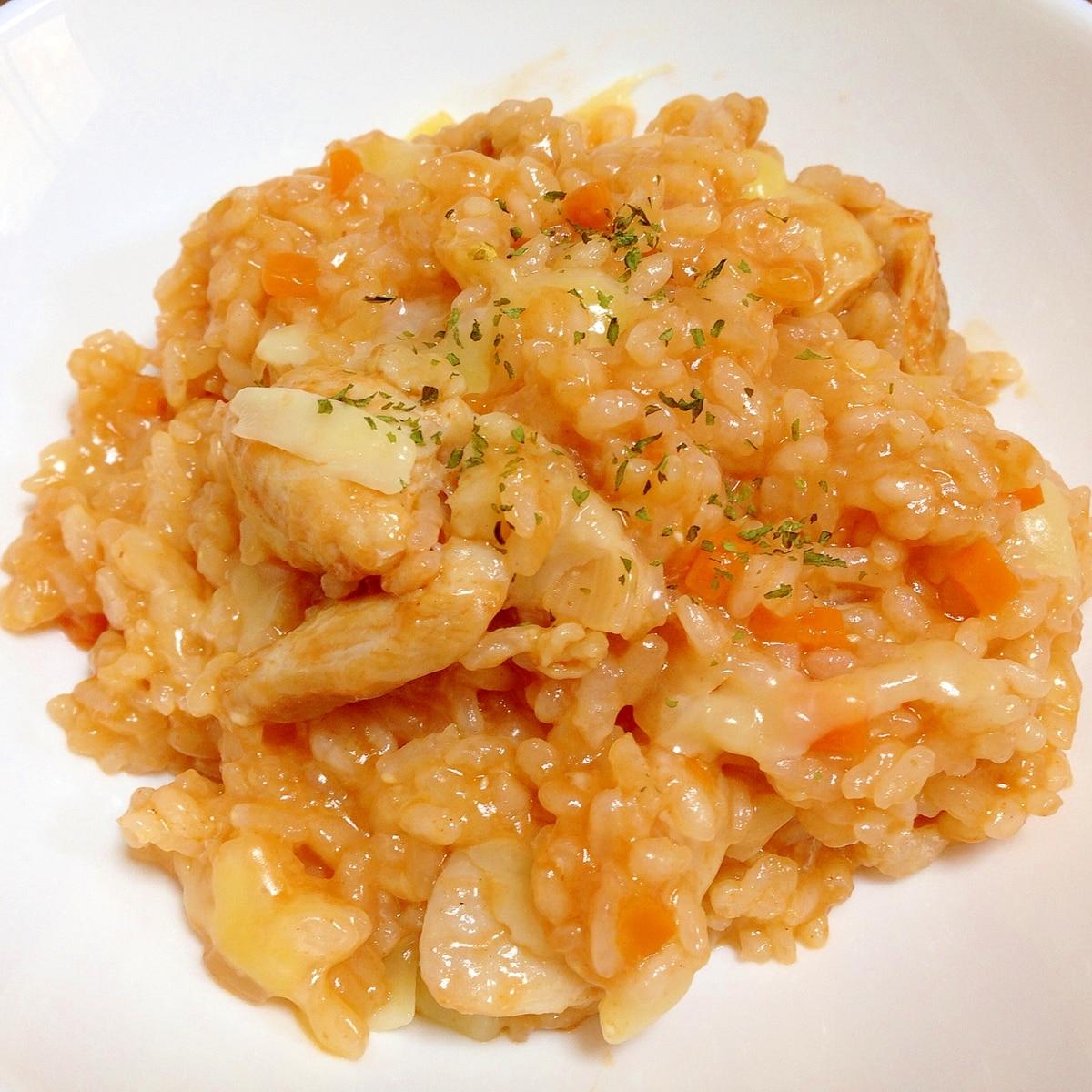 チキン ライス アレンジ