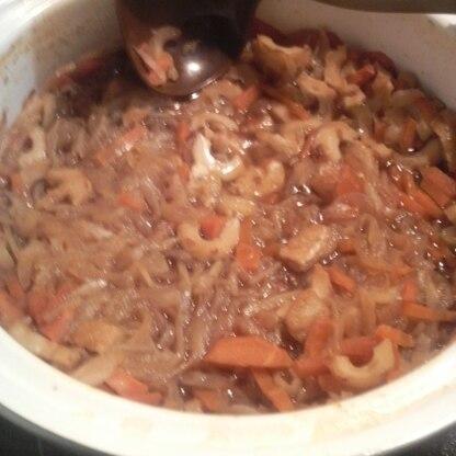 作らせていただきました、とても美味しかったです。