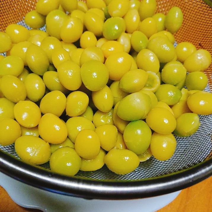 銀杏の下処理☆銀杏の塩茹で(写真つきで分りやすい)