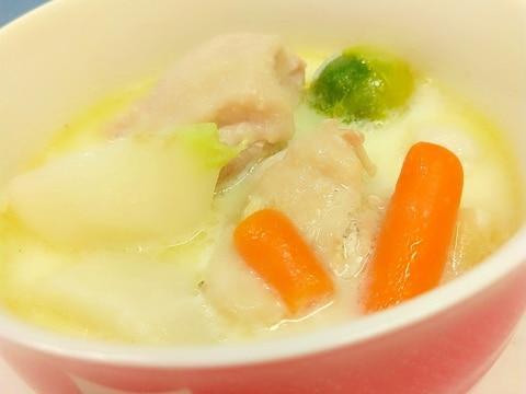 冷凍野菜ミックス(^^)簡単クリームシチュー♪