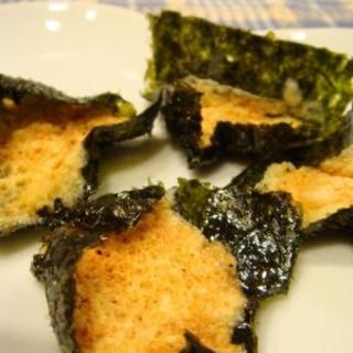 海苔とチーズの簡単おつまみ