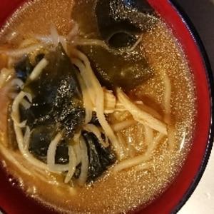 自家製☆野菜たっぷり味噌ラーメン