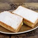 キムチポテサラのサンドイッチ