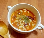お豆たっぷり★トマトスープ