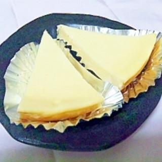 超簡単★炊飯器で本格ベイクドチーズケーキ★