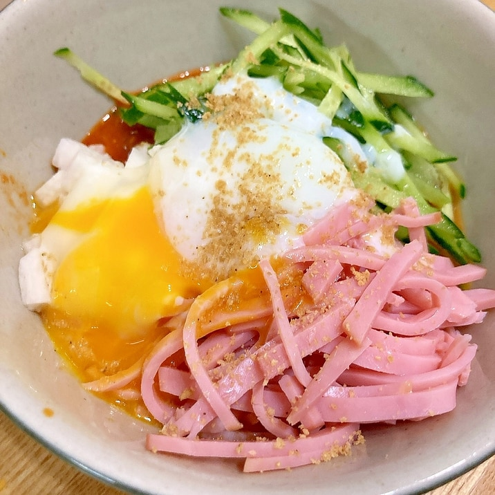 低カロリー☆こんにゃくビビン麺