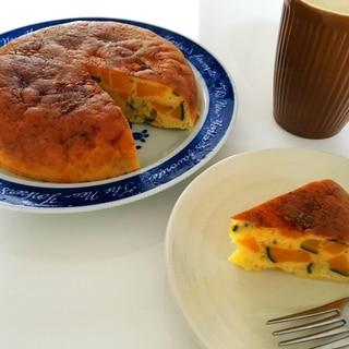砂糖バター不使用♪炊飯器でかぼちゃケーキ