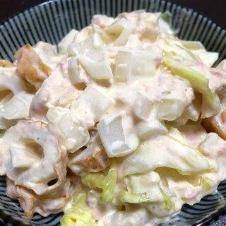 キャベツ&ちくわのツナマヨサラダ♪美味しくて簡単!