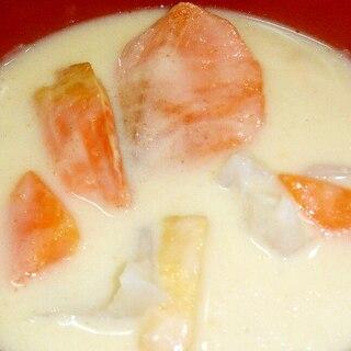 酒粕で生臭くない鮭粕汁◆風邪予防,ダイエットも!?