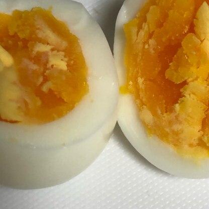 好みのかたさのゆで卵に仕上がりうれしいです\(^o^)/ ありがとうございましたーっ!