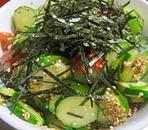 ★簡単☆きゅうりとプチトマトの塩ダレサラダ★