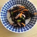 レンジ☆ひじきと枝豆サラダ