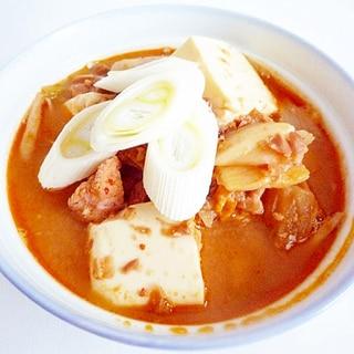 チョングッチャンチゲ 韓国風納豆鍋