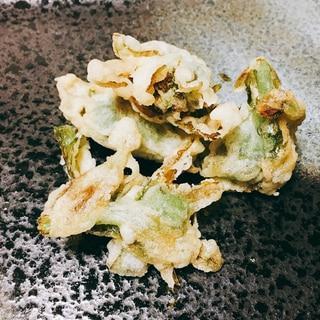 「春の訪れ」 ふきのとうの天ぷら