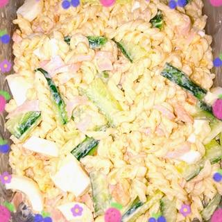 優しい味のゆで卵のマカロニサラダ