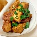 焼き肉のたれで ☆ 鶏ももと厚揚げの炒め焼き