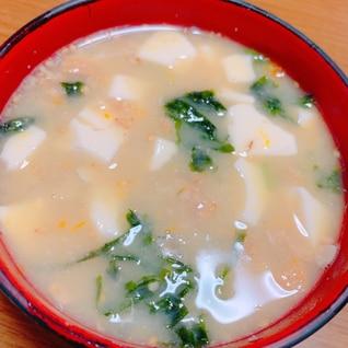 栄養たっぷり納豆の味噌汁