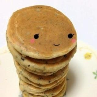 離乳食ひじききな粉パンケーキ